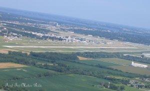 Oshkosh from the air