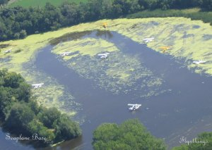 Seaplane Base from air