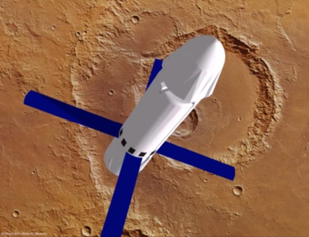 Image: Mars Colonial Transporter