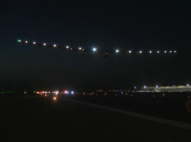 Image: Solar Impulse takeoff